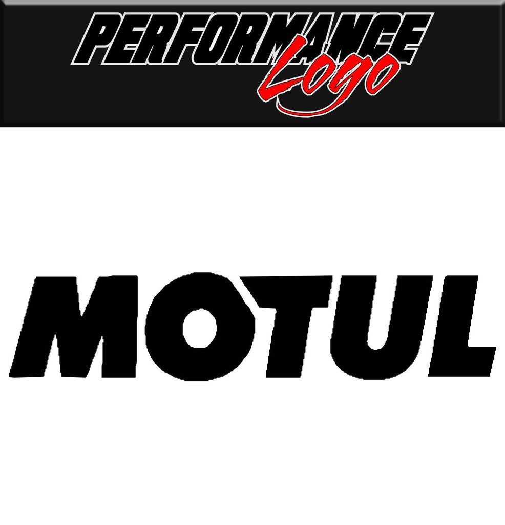 Motul decal, performance decal, sticker