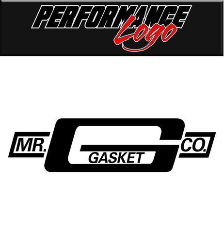 Mr Gasket decal, performance decal, sticker