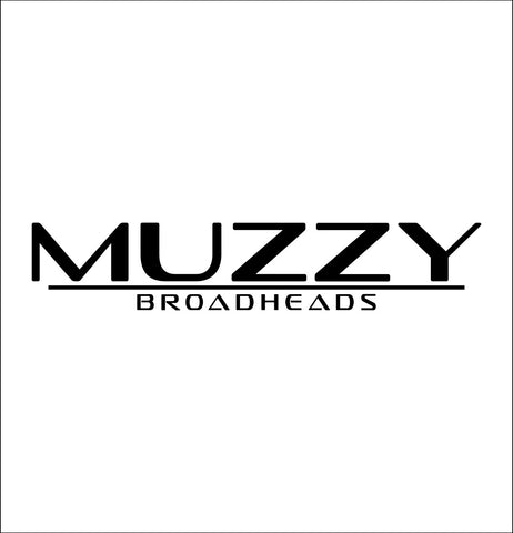 Muzzy Broadheads decal, sticker, hunting fishing decal