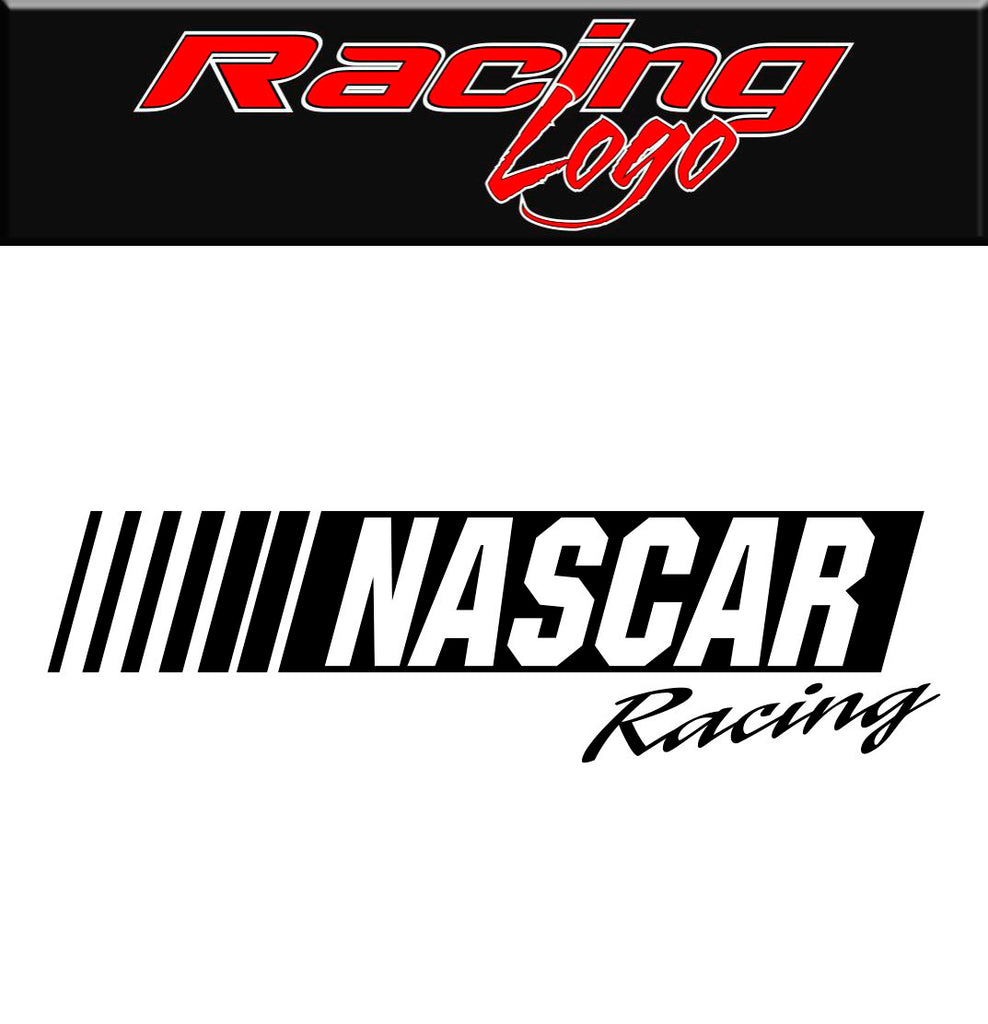 Nascar Racing decal, sticker, racing decal