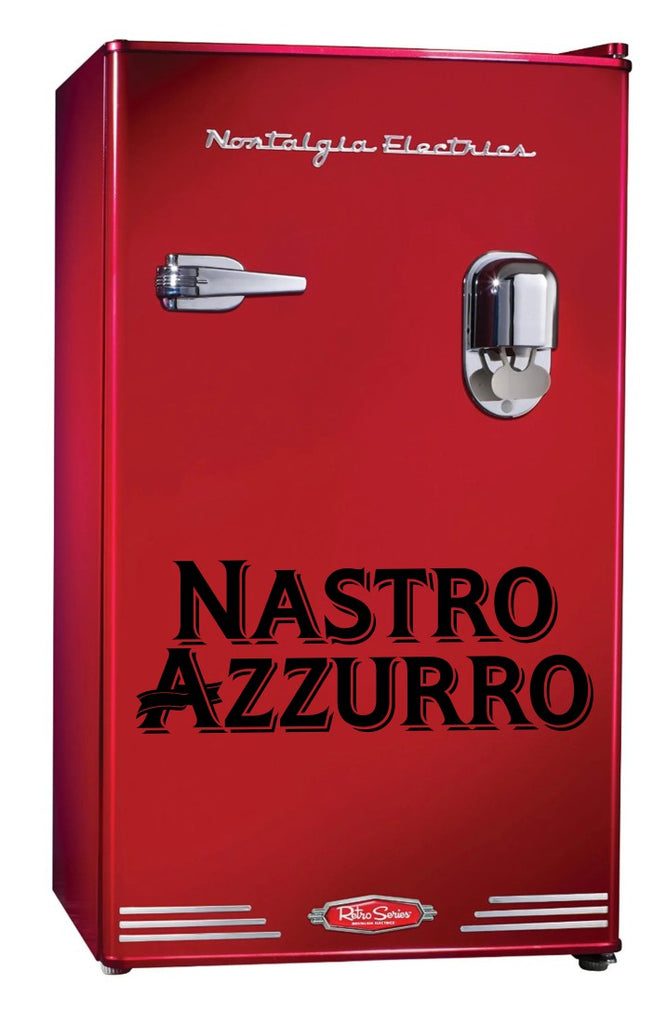 Nastro Azzurro decal, beer decal, car decal sticker