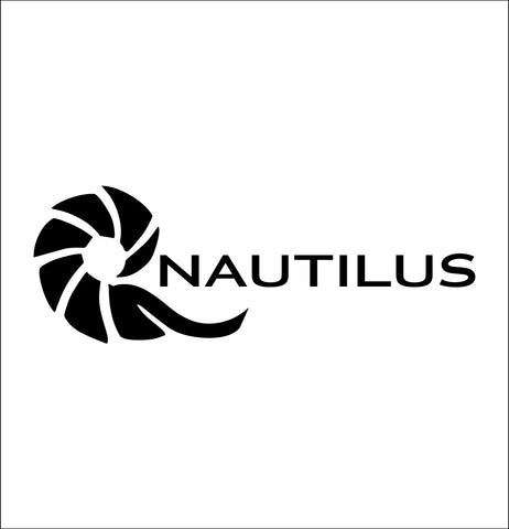 Nautilus Reels decal, sticker, hunting fishing decal
