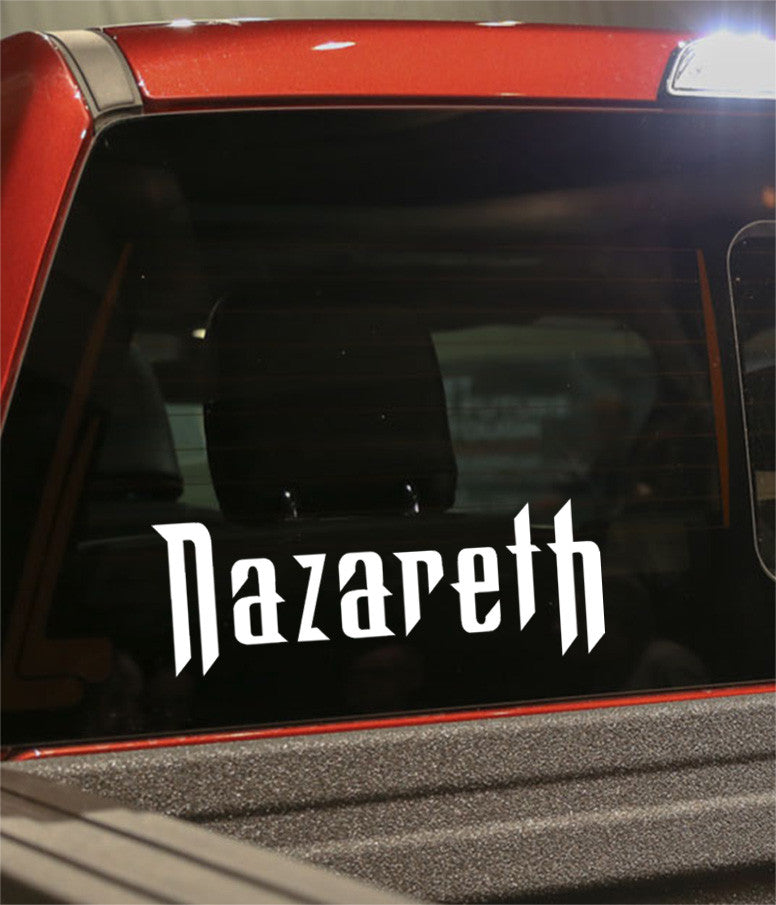 nazareth band decal - North 49 Decals