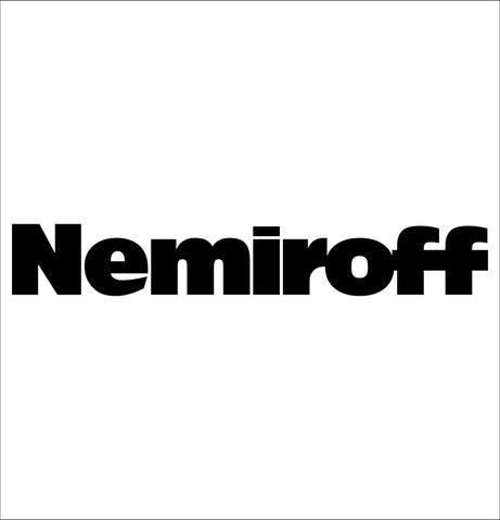 Nemiroff decal, vodka decal, car decal, sticker