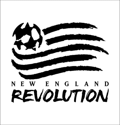 New England Revolution decal, car decal sticker