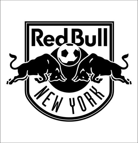 New York Red Bulls decal, car decal sticker