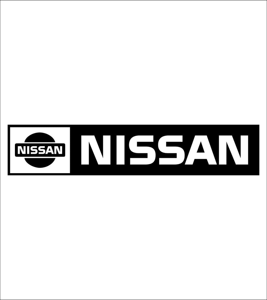 Nissan decal, sticker, car decal