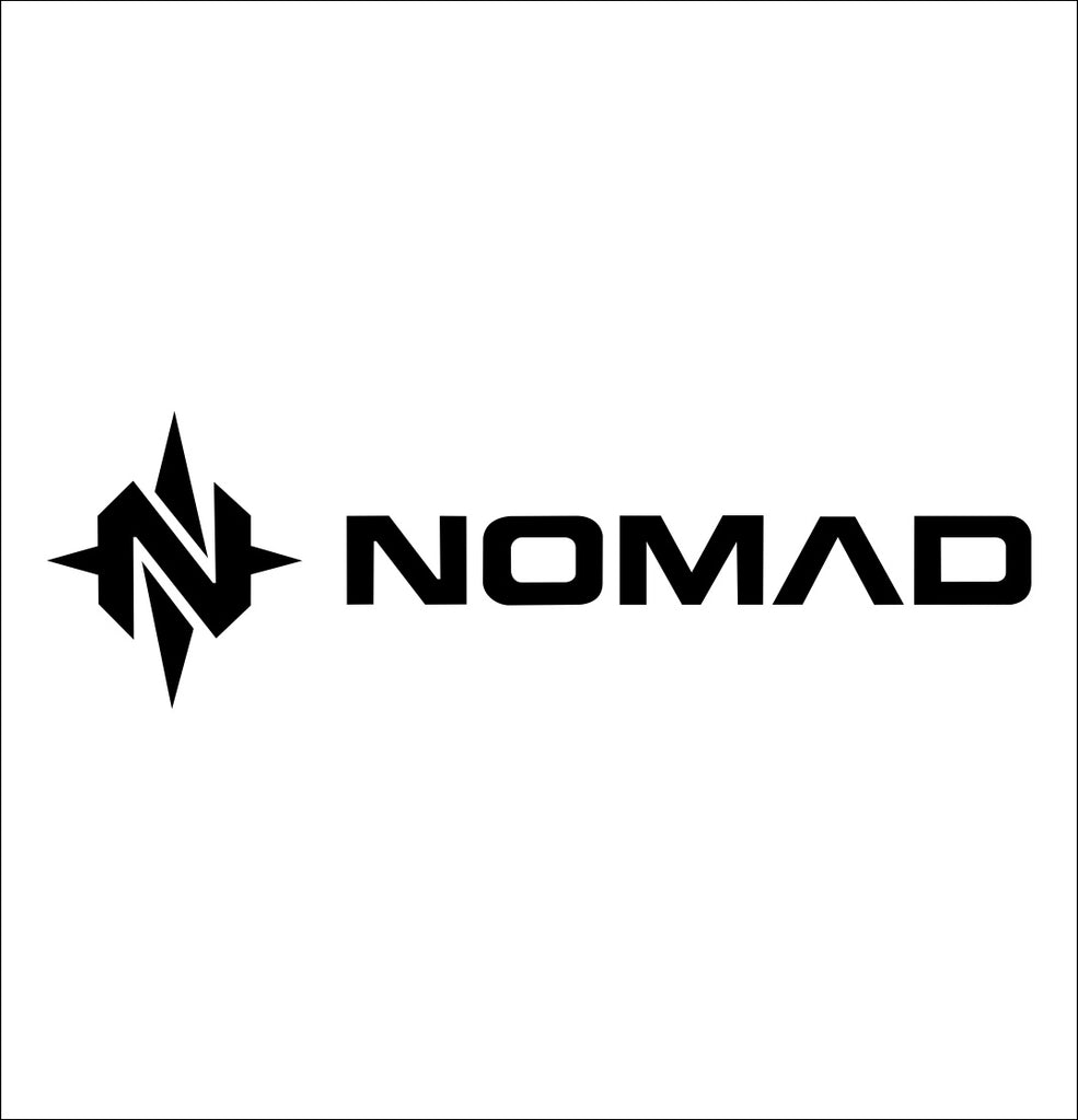nomad outdoor decal, car decal sticker