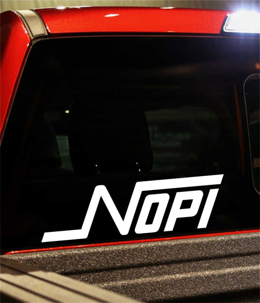 NOPI Motorsports decal - North 49 Decals