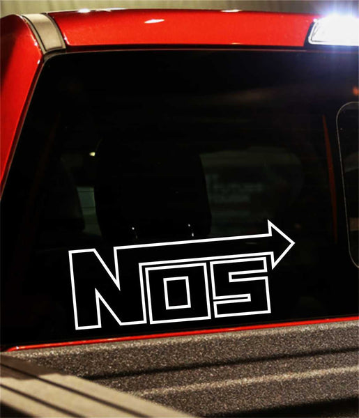 nos decal - North 49 Decals