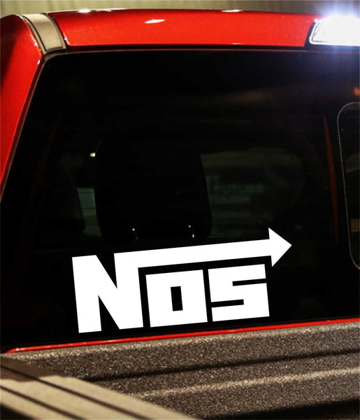 nos 2 performance logo decal - North 49 Decals