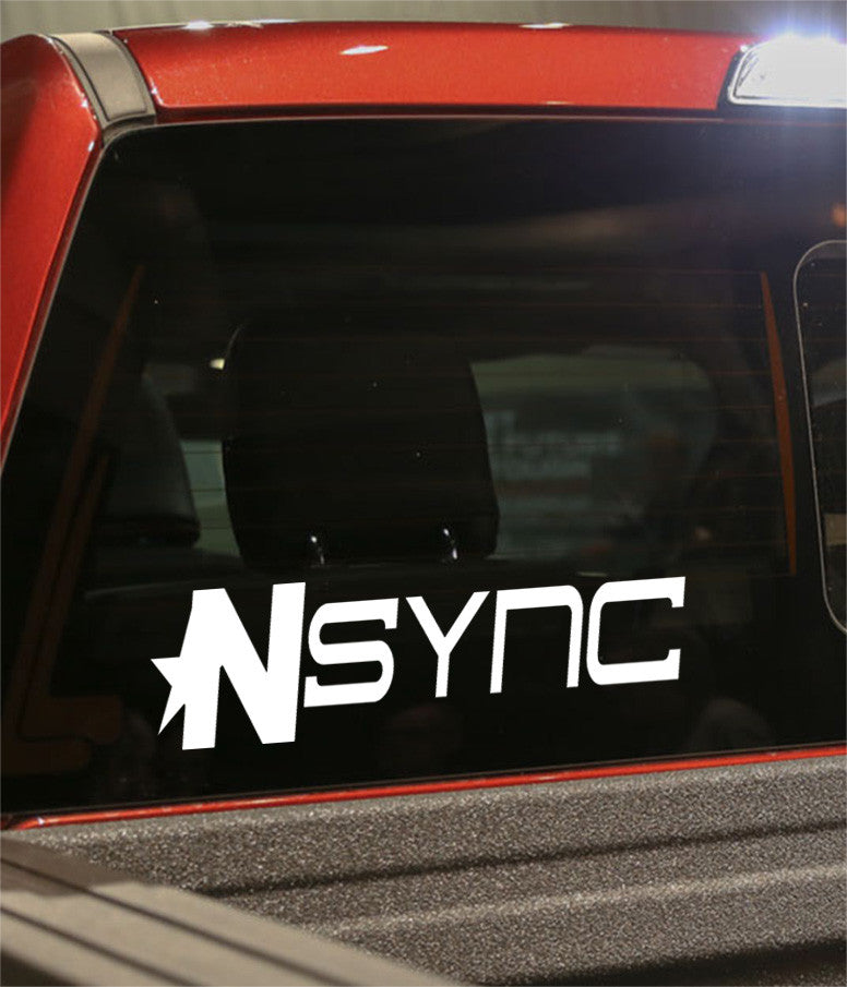 nsync band decal - North 49 Decals