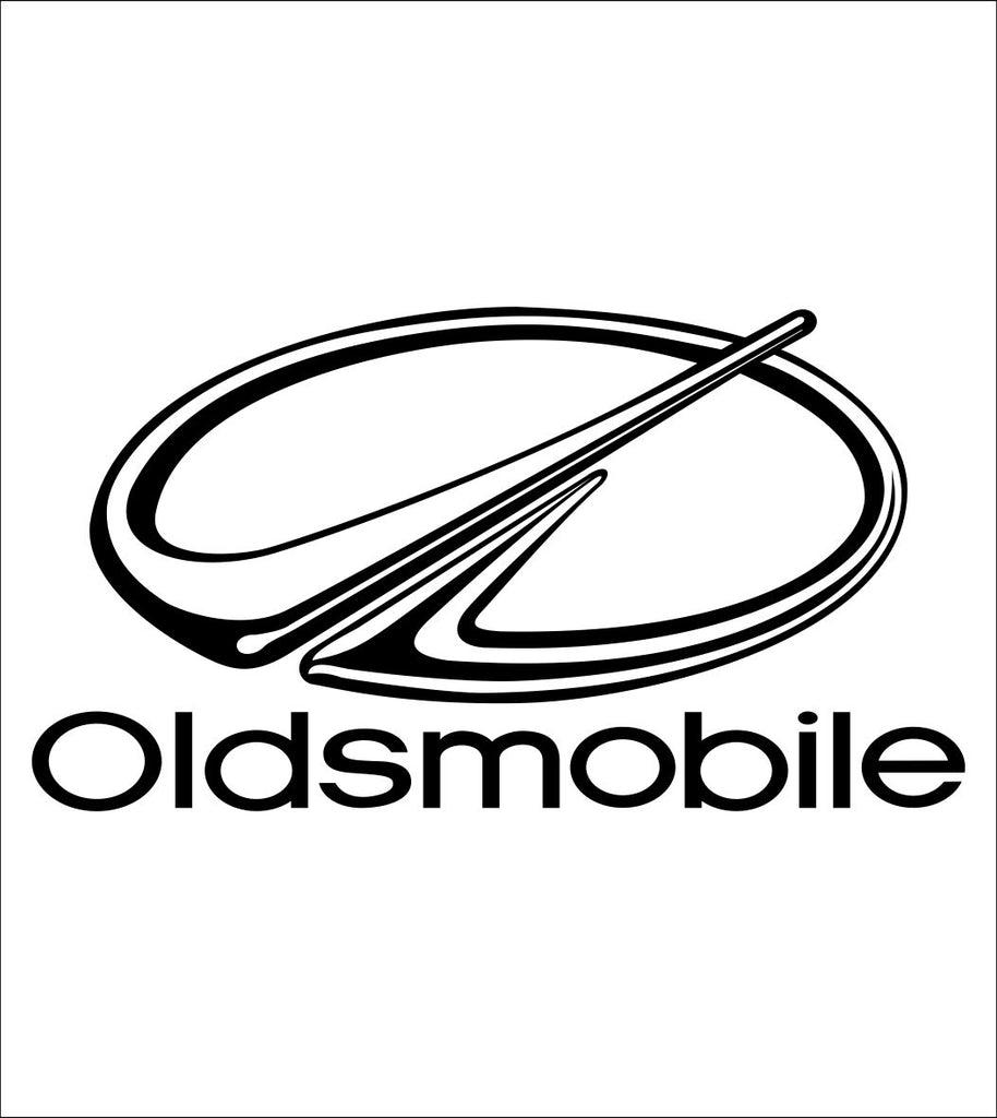 Oldsmobile decal, sticker, car decal