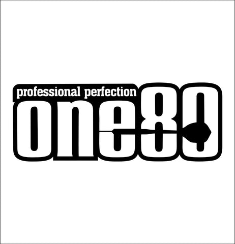 One 80 Darts decal, darts decal, car decal sticker