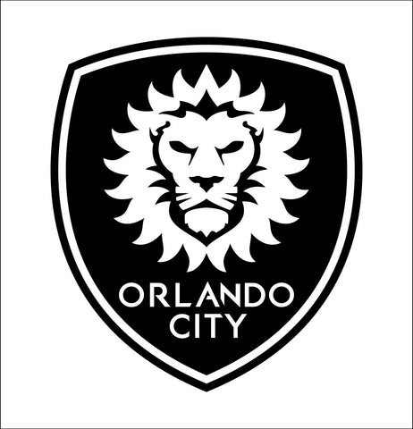 Orlando City SC decal, car decal sticker