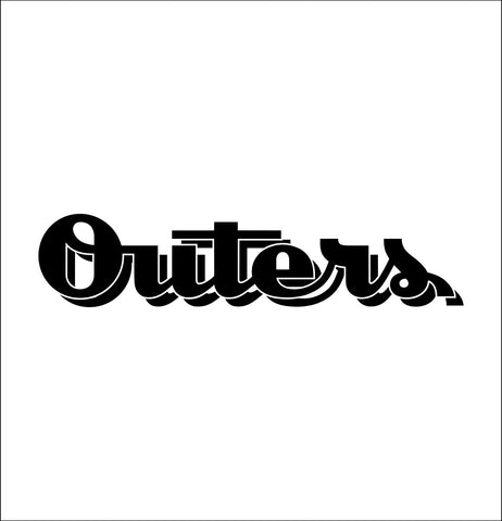 Outers decal, sticker, hunting fishing decal