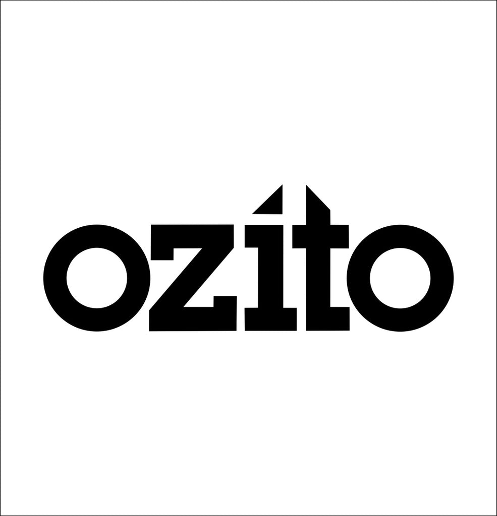 ozito decal, car decal sticker