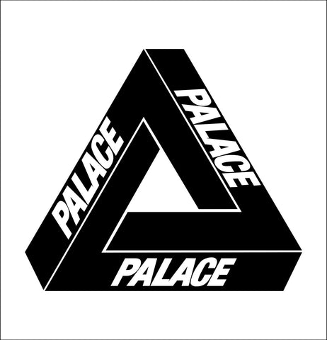 Palace Skateboards decal, skateboarding decal, car decal sticker