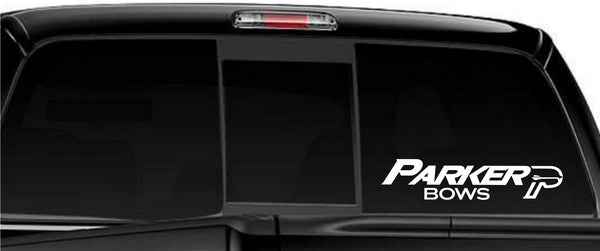 Parker Bows decal, sticker, car decal