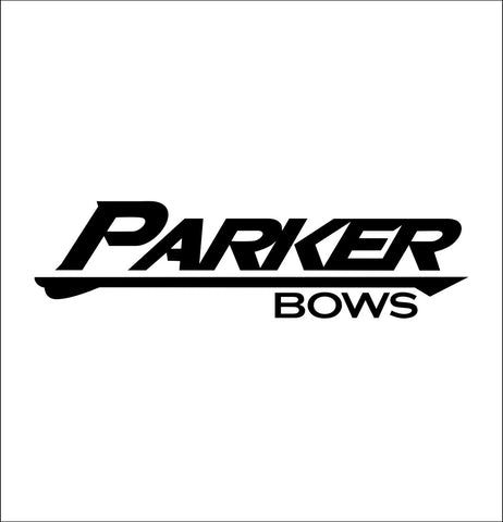 Parker Bows decal, sticker, hunting fishing decal