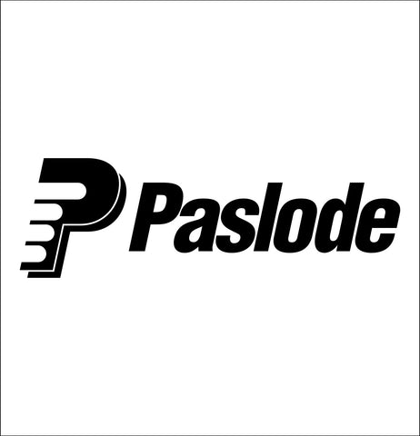 paslode decal, car decal sticker