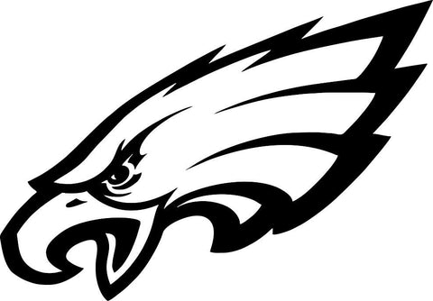 philadelphia eagles car window decal