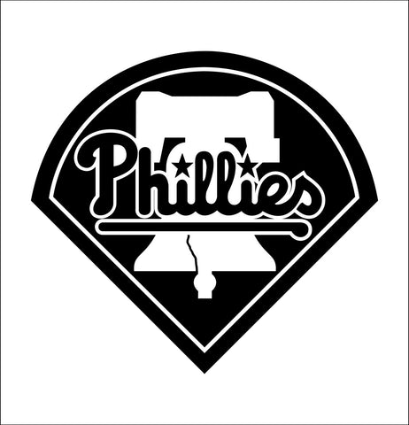 Philadelphia Phillies decal, car decal sticker