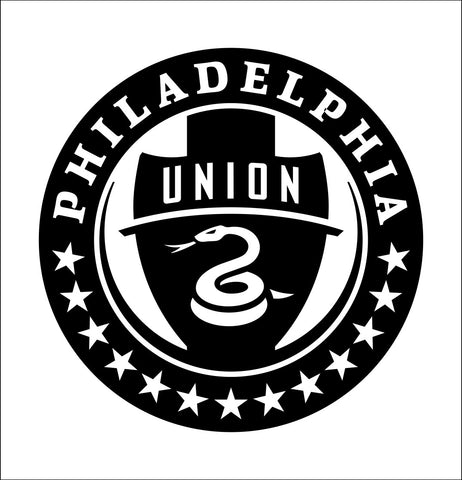 Philadelphia Union decal, car decal sticker