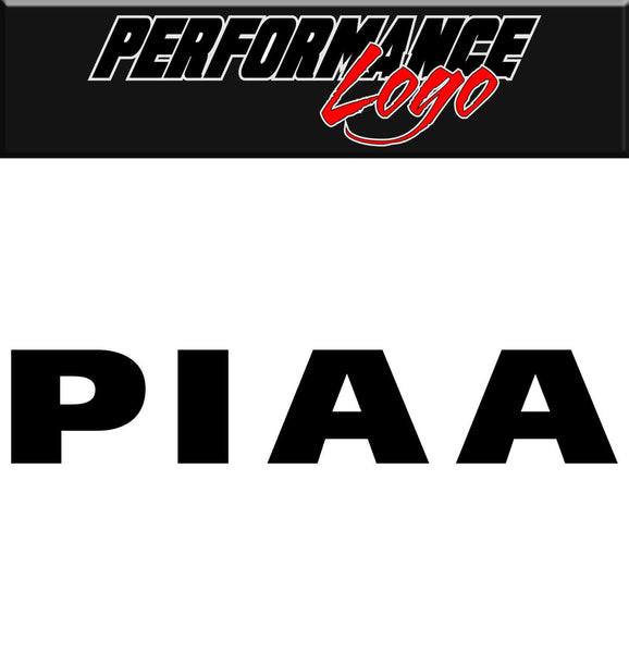 PIAA decal, performance decal, sticker