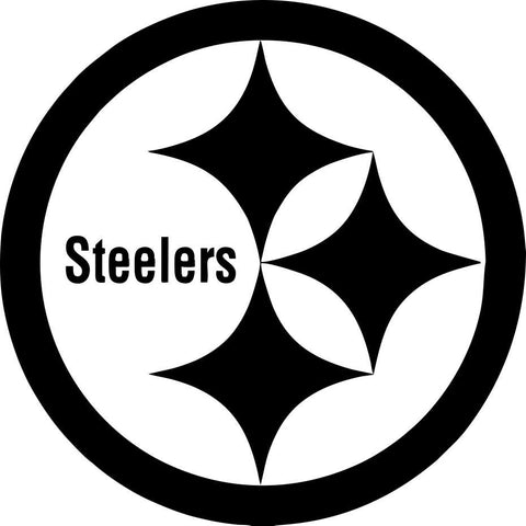 pittsburgh steelers car window decal