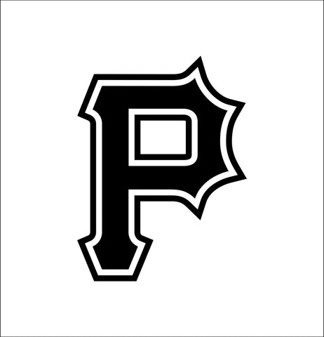 Pittsburgh Pirates decal, car decal sticker