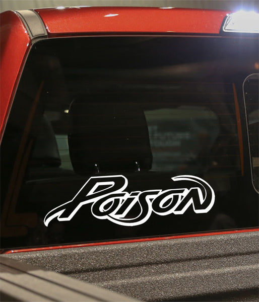 poison band decal - North 49 Decals