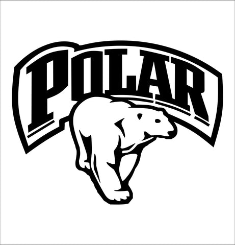 Polar Ice decal, vodka decal, car decal, sticker