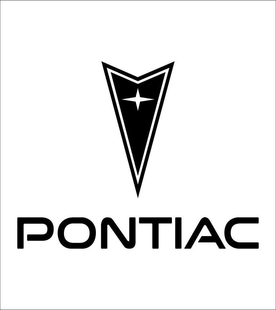 Pontiac decal, sticker, car decal