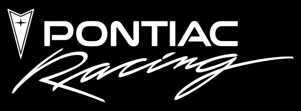 Pontiac Racing decal, sticker, racing decal