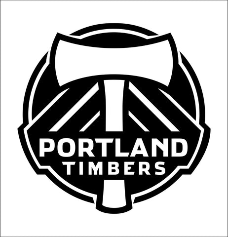 Portland Timbers decal, car decal sticker
