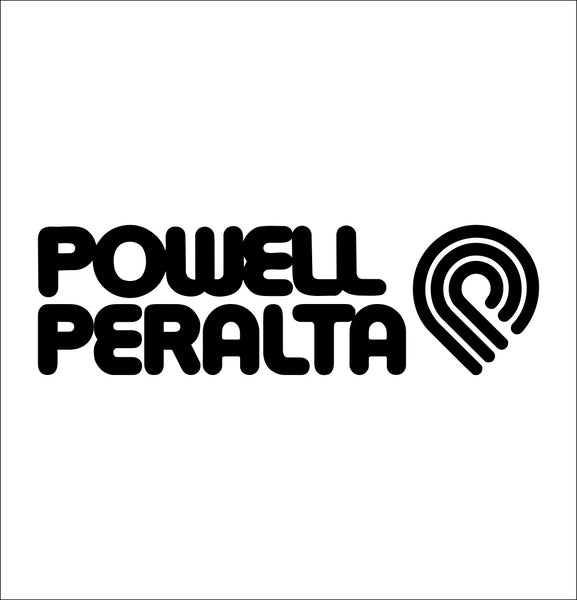 Powell Peralta decal, skateboarding decal, car decal sticker