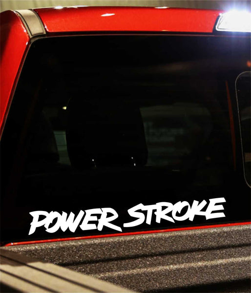 power stroke decal - North 49 Decals
