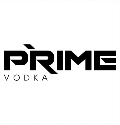 Prime Vodka decal, vodka decal, car decal, sticker