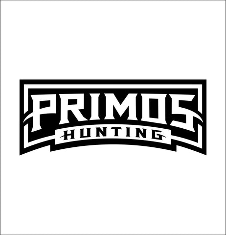 Primos Hunting decal, sticker, hunting fishing decal