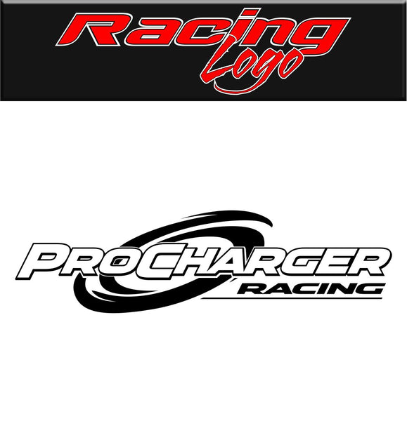 Procharger Racing decal, racing decal sticker