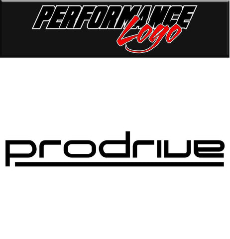 Prodrive decal, performance decal, sticker