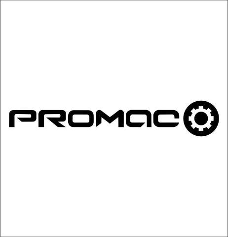promac tools decal, car decal sticker