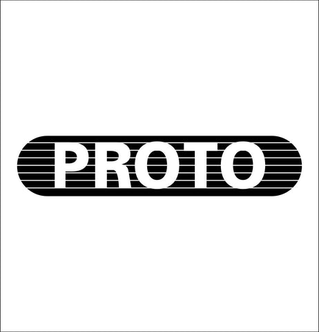 proto tools decal, car decal sticker