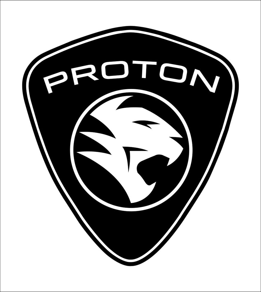 Proton decal, sticker, car decal