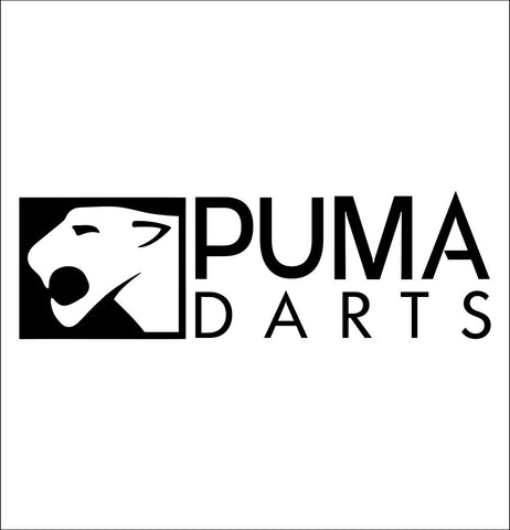 Puma Darts decal, darts decal, car decal sticker