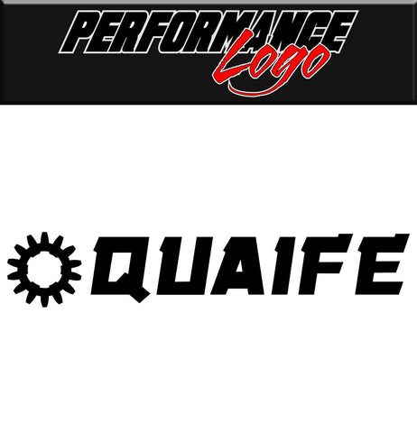 Quaife decal, performance decal, sticker