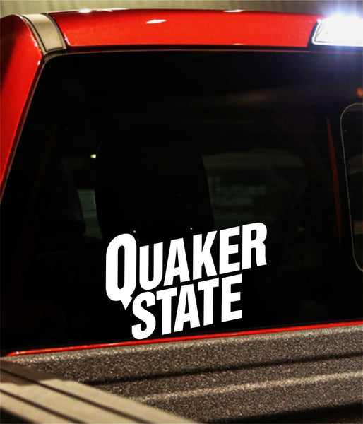 quaker state decal - North 49 Decals