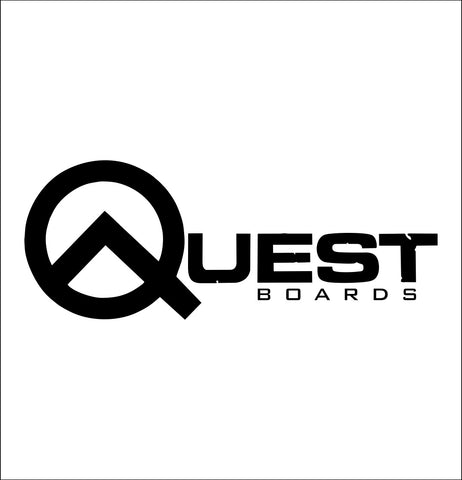 Quest Boards decal, skateboarding decal, car decal sticker