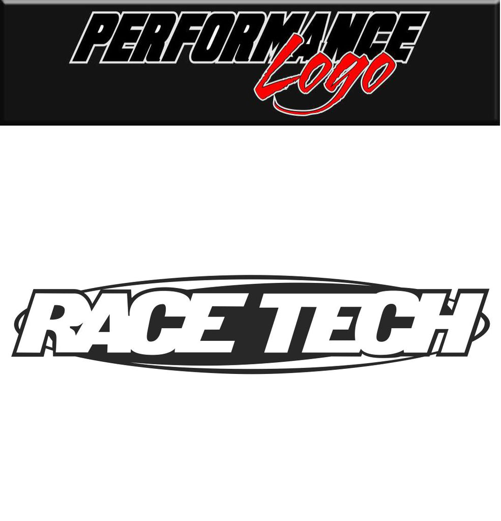 Race Tech Suspension decal, performance decal, sticker